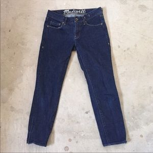 Madewell Ankle Zip Jeans